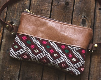 Kilim Bag. Leather Bum Bag. Leather Belt Bag. Festival Fanny Pack. Leather Hip Bag. Boho Bag. Leather Waist Bag. Carpet Bag. Hippie Bag.