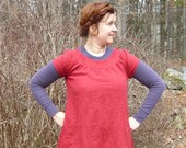 short sleeve smock tunic or dress -- custom made to order