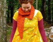 short sleeve smock tunic or dress -- custom made to order