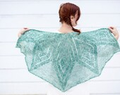 borealis shawl PDF crochet pattern