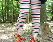 printed or striped leggings -- made to order