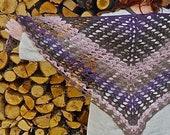 wingfeathers shawl PDF crochet pattern