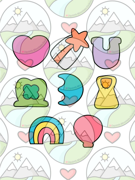 Shooting Star Cookie Cutter Lucky Charms