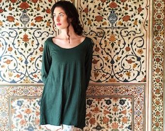 ORGANIC Slip Wanderer Tunic (light hemp/organic cotton knit) - organic dress