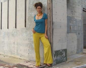 ORGANIC Simplicity Pant ( light hemp and organic cotton knit ) - organic pants