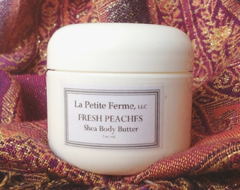 Shea Body Butter - Fresh Peaches - it's delicious