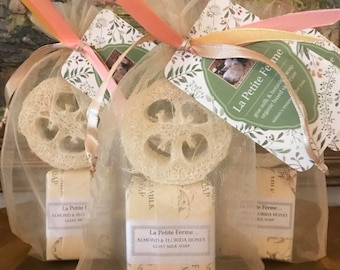 Soap gift set, gift for her, gift for him, coworker gift, wedding favor, air bnb, thank you gift, gift under 10, wedding shower, Florida