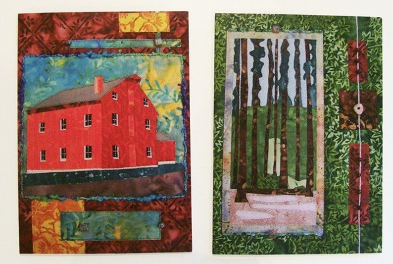 Ohio Any Occasion Cards Stationary Blank Cards Yellow Springs Quilt Cards Glen Helen Set of 6 Cards Greeting Cards Notecard Set
