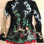 Scarlet Flower rhythmic gymnastics leotard | Figure skating | RG competition | Sergey Aksakov, Russian fairy tales | Russian folklore