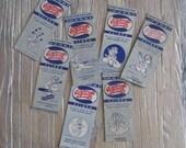 7 1940s Walt Disney Pepsi Cola WW2 Matchbooks