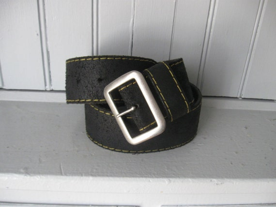 Doc Martins Useful Accessories Black Leather Belt