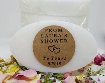 Bridal Shower Soap Favors - Mini Favors - Soap Favors - Guest Soaps - Bridal Shower Favor Soaps - Soap Gift - Bridal Shower Favors