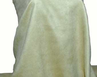 crafts Faux Suede Fabric mint green jackets,skirts vest 100 /% polyester Double faced accessories clothing hats pliable soft