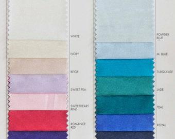 "Nylon Tricot stretch fabric 40 denier.. lingerie, slips, panties, wedding, decor, bridal, crafts 108"" wide 100% nylon"