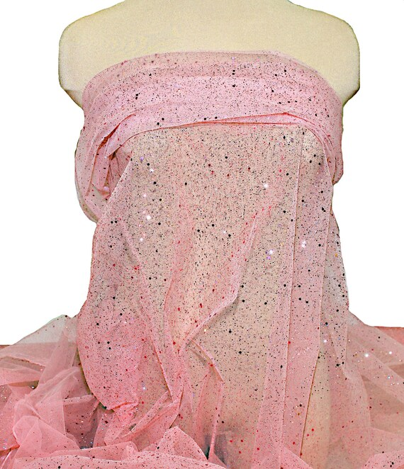 """STRETCH LACE FABRIC PERIWINKLE  54/"""" WIDE BY THE YARD PAGEANT FORMAL DRESS"""