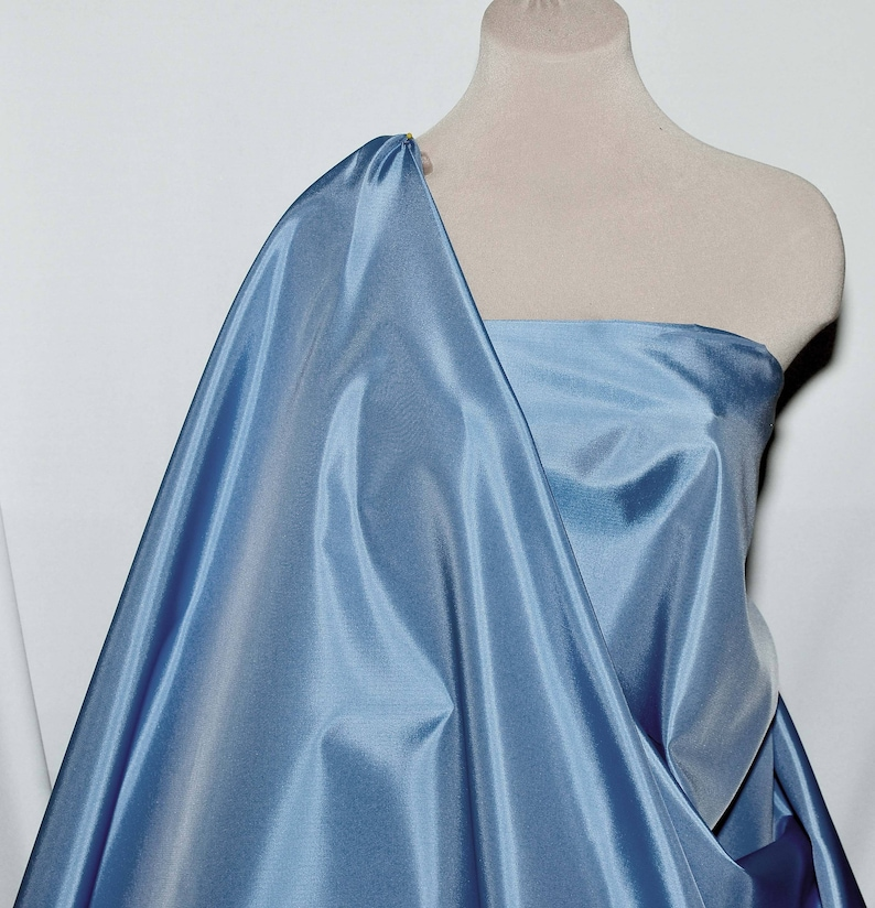 WIDE BTY SATIN BACK IRIDESCENT TAFFETA COLOR CARD CHOICE OF COLOR 1 YARD
