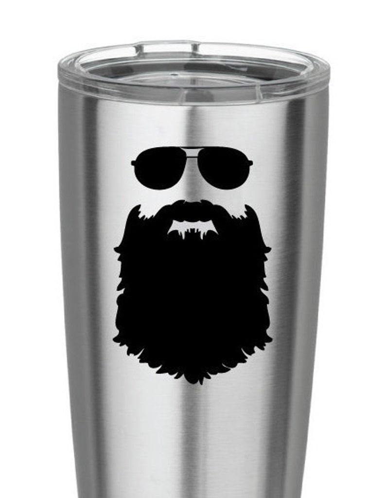 Beard love beard decal beards bearded man i love beards vinyl etsy