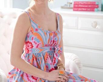 Sis Boom Carolina Mae Sewing Pattern, PDF E-Book - with Scientific Seamstress