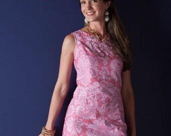 Sis Boom Rebecca Dress, Women's Sheath Dress sewing pattern - PDF E-Book with Scientific Seamstress