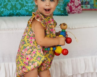 Sis Boom Carly Baby Bubble PDF Sewing Pattern - Preemie to 24 mo - Scientific Seamstress Instructions