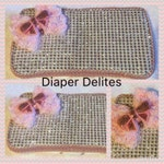 Pink Rhinestone Boutique Baby Travel Wipe Case Sparkle Bow Gift BLING