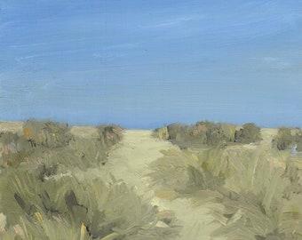 Ocean Beach - digital download of an original acrylic painting