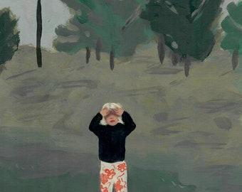 Sunny Day - digital download, wall art, digital art
