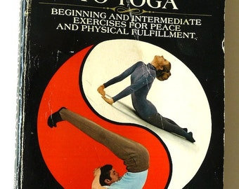 Introduction Yoga Hittleman vintage book 1977 positions daily routines special problems instructional fitness health