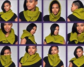 Crochet Scarf / Cowl / Neckwarmer - MultiScarf