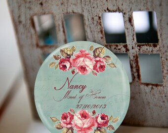 spa gift wedding party gift pocket mirror wedding favors bridal shower favors baby shower favors personalized christmas gift
