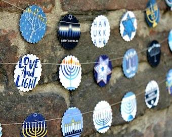 Hanukkah,  Hanukkah decorations, Hannukah decor, Hanukkah garland, Hanukkah decor, Hanukkah menorah, Hanukkah gifts, Chanukah, Hannukah