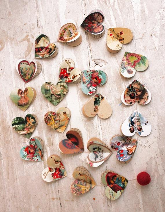 Primitive Valentine Valentines Day Decor Valentine Gift For Etsy