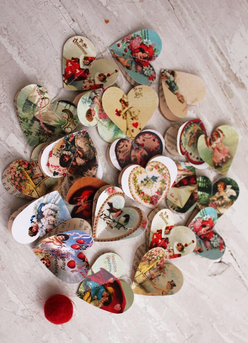 Valentines Clearance Wedding Decor Vintage Valentines Gift Etsy