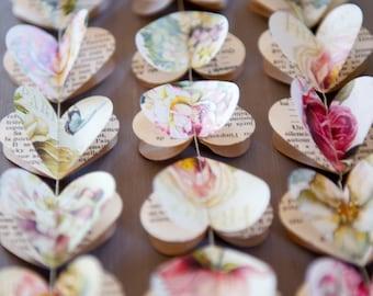 Wedding decor, Heart garland, Wedding decorations, Wedding decor rustic, Wedding decor backdrop, Wedding decor boho, Eco friendly gift