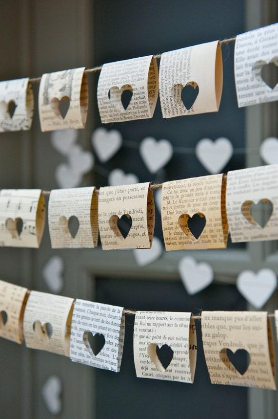 Outdoor Decor Wedding Decor Book Themed Wedding Wedding Etsy