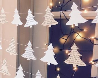 Rustic holiday decor, Holiday decor, Christmas clearance, Christmas garland, Christmas decorations, Gift for teacher, Modern Christmas