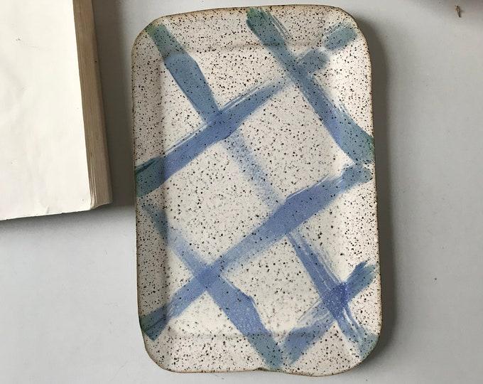 Paul Lowe Ceramics Delft Platter