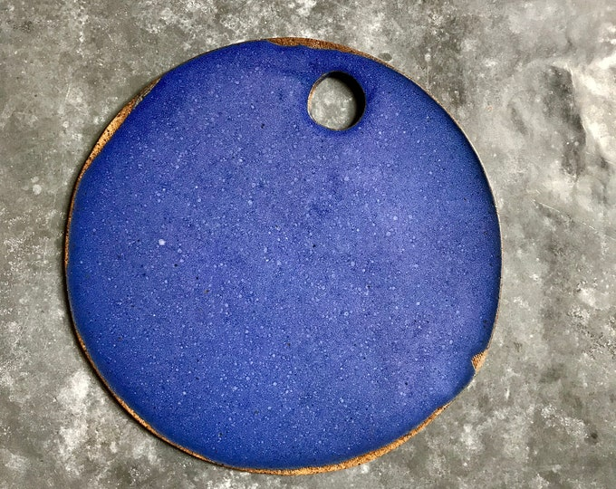 Paul Lowe Ceramics Cheese Board BLUE