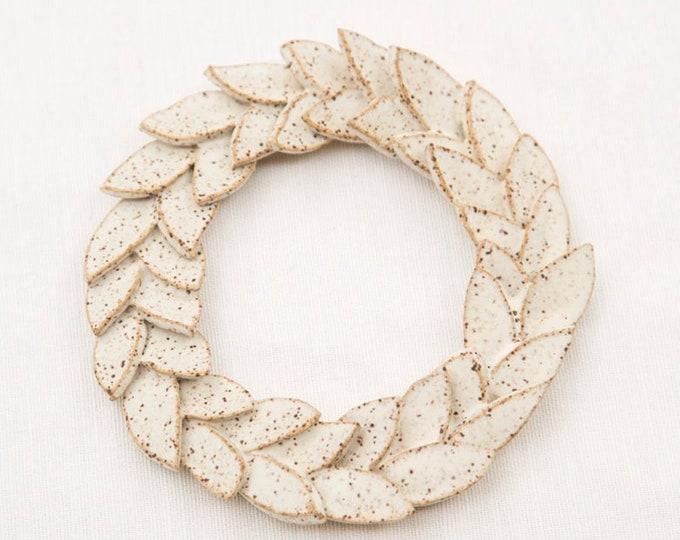 Paul Lowe Ceramics Wreath