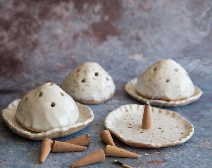 Paul Lowe Ceramics Incense Domes
