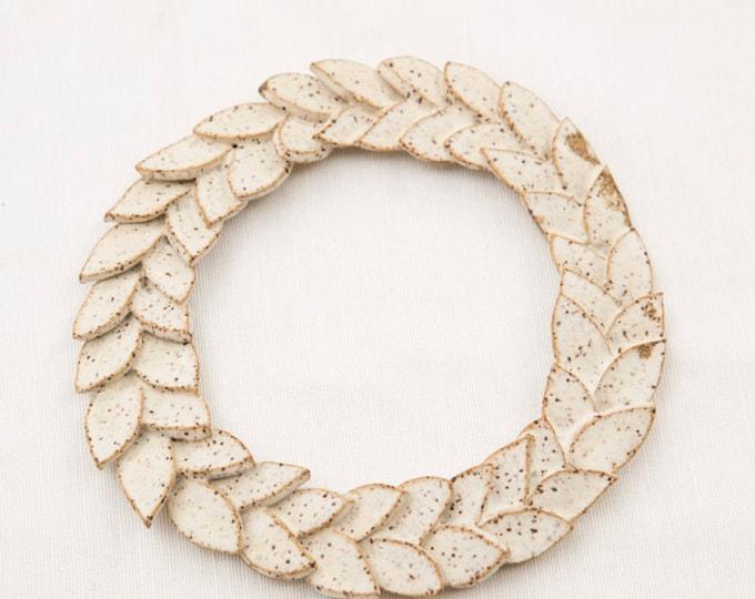 Paul Lowe Ceramics Caesar Wreath