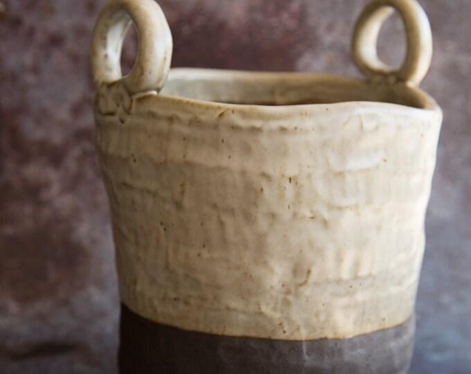 Paul Lowe Ceramics Large Bucket Planter