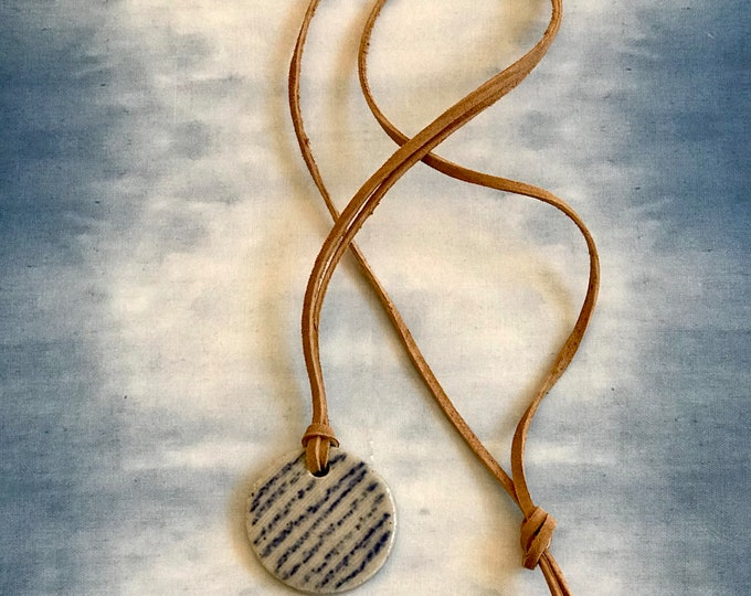Paul Lowe Ceramics Delft Necklace