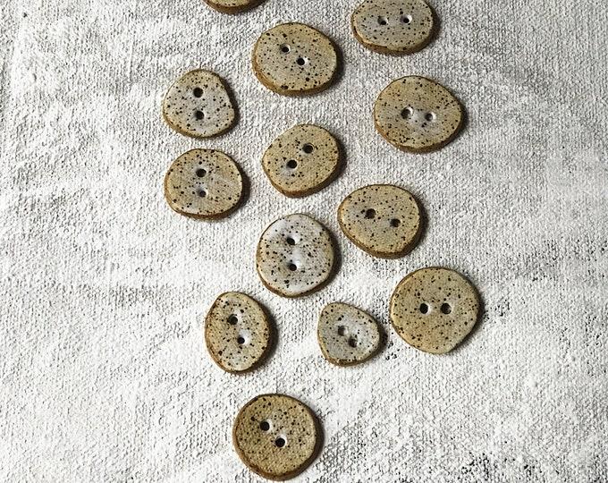 Paul Lowe Ceramics Buttons