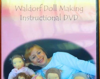 Waldorf Doll Making DVD Instructional dolls Steiner