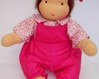 "Instant Download PATTERN 16"" Jointed Waldorf Doll Steiner dolls (button free)"