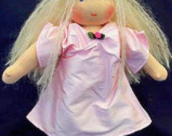 """Instant Download Pattern Waldorf dolls Steiner FAIRY outfit clothing only 13-14"""" size doll"""