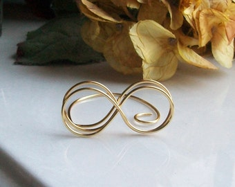 INFINITY Short Wire Place Card - Table Number Holder - You Choose a Color - Placecard - Escort Card
