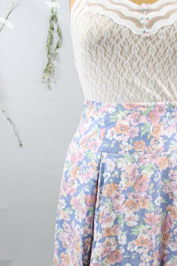 Vintage Laura Ashley Floral Skirt - image 2