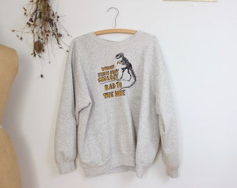 1990's Bad to the Bone Geology Sweater